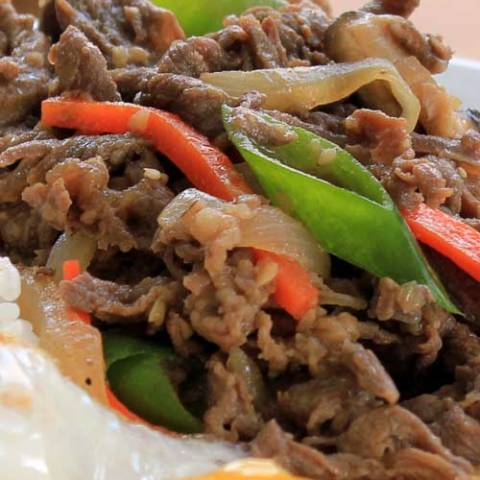 Recipe for Korean Marinated Beef - Bulgogi - Bulgogi is one of the most loved Korean dishes in the world. It is pretty easy to make and all ingredients are easy to find in any grocery store.