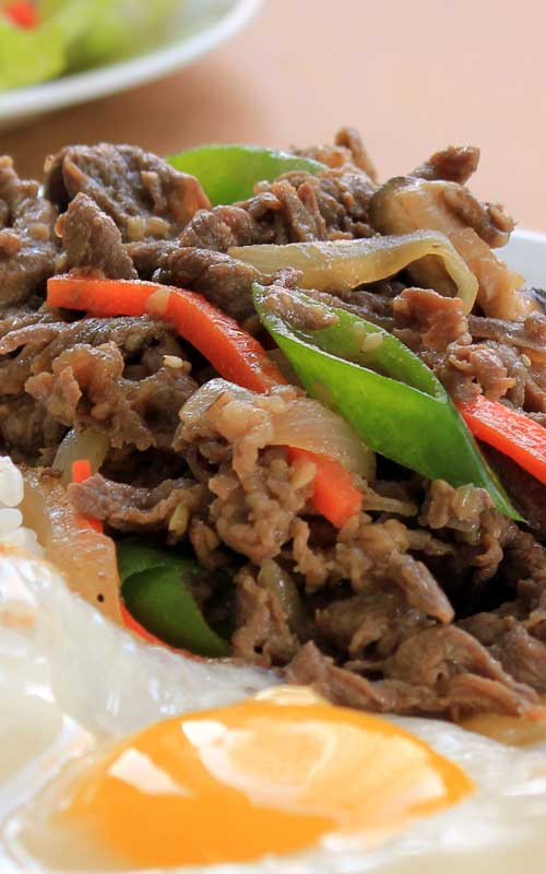 Korean Marinated Beef – Bulgogi