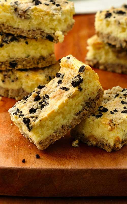 Cookies and Creme Cheesecake Bars