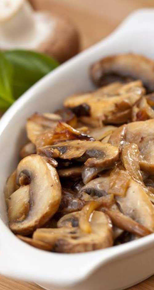 This is one of the easiest and most yummy ways to enjoy your mushrooms. Delicious as a side, an appetizer, or added to  a salad.