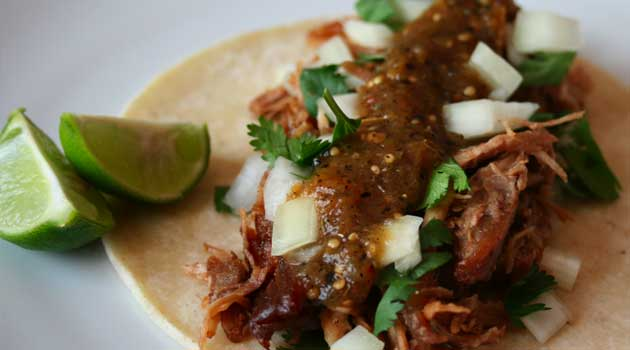 Recipe for Pork Carnitas - Many find carnitas a little dry or flavorless. These have a great, distinctive flavor and are requested by friends and family over and over.