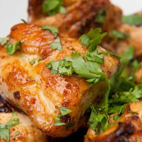 Recipe for Quick Lime Cilantro Chicken - This recipe is wonderful, and a much faster alternative to marinating chicken. So easy and so tasty!