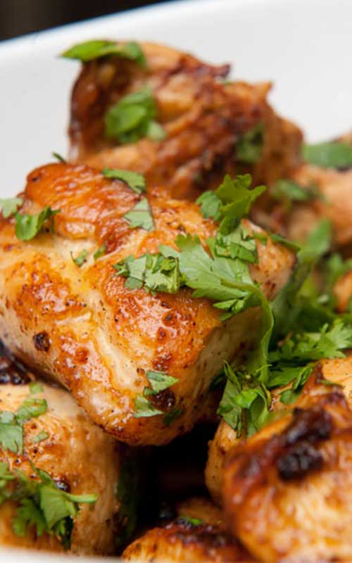 ThisQuick Lime Cilantro Chicken recipe is wonderful, and a much faster alternative to marinating chicken. So easy and so tasty!