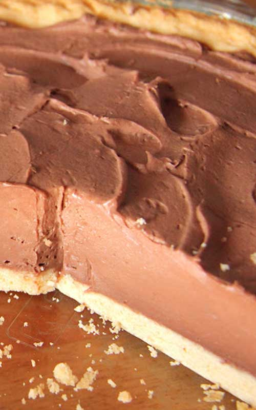 Easy Chocolate Kahlua Cheesecake