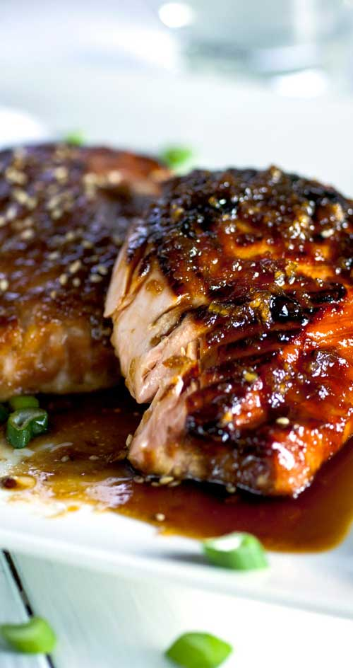 The easiest, most flavorful salmon you will ever make. Once you cut into your salmon filet you end up with lovely juicy and tender meat.