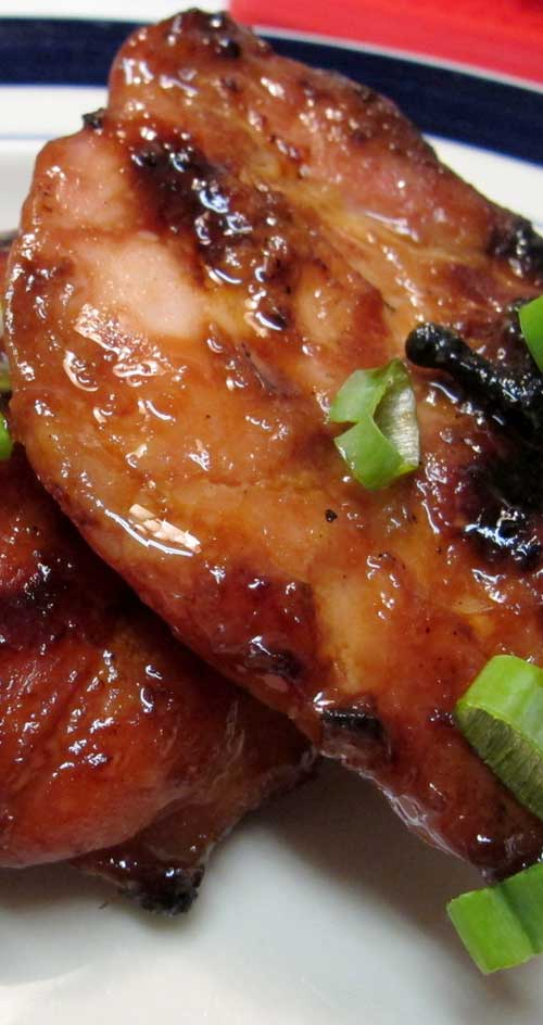 My go-to BBQ chicken recipe. This doesn't use any sticky storebought sauce, just a simple Hawaiian-style marinade.