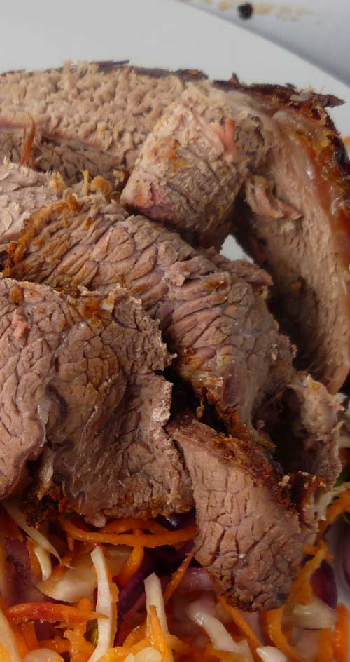 The perfect BBQ Beef Brisket is the holy grail of barbecue—often pursued, rarely attained. This recipe is sure to get you pretty close though. #bbqbrisket #bbqrecipe #beefbrisket #brisketrecipe
