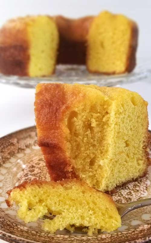 Recipe for Simple Lemon Poundcake - You'll love that this simple lemon pound cake. It's moist and full of lemon flavor which means it is perfect for spring! It is so good that, the last time I made it, it didn't make it through the day!