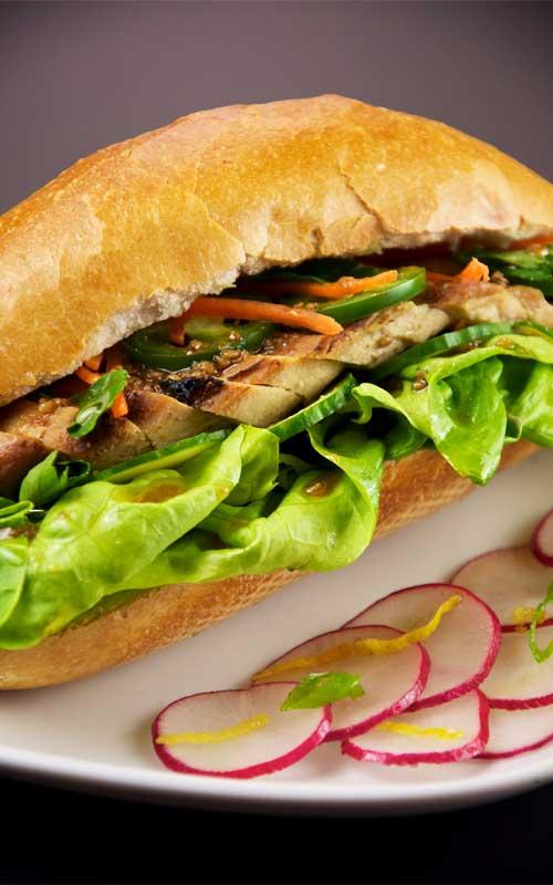 Vietnamese Chicken Sandwich
