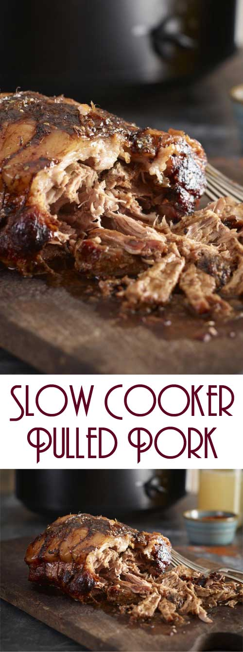Try our mouth watering slow cooker pulled pork recipe for a quick and easy way to enjoy pork that tastes delicious. #slowcooker #crockpot #porkrecipe #pulledpork