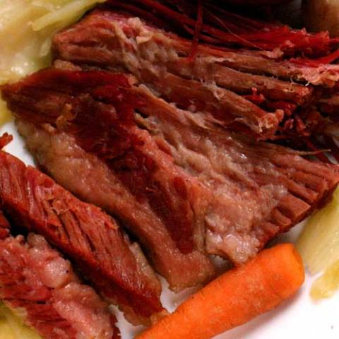 When you think of St. Patrick's Day food, there's only one dish that really comes to mind: corned beef and cabbage. It's delicious and traditional -- even if it isn't exactly Irish.