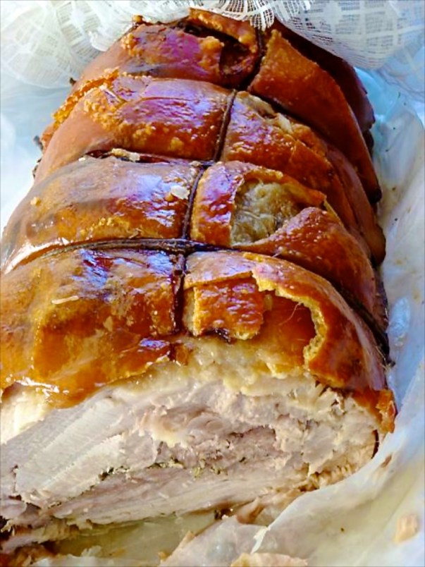 Flavor of Italy Rome Culinary Walking Tour - Porchetta