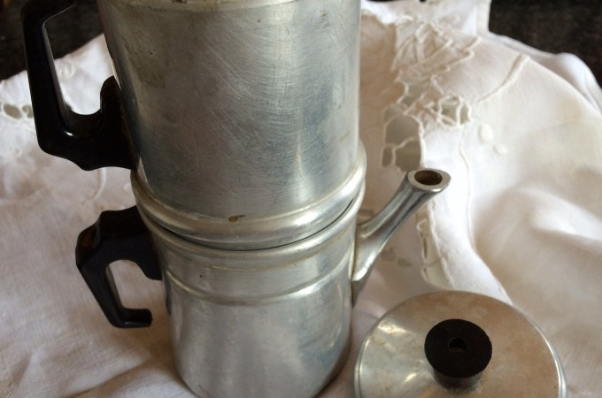 Antique Neapolitan coffee maker