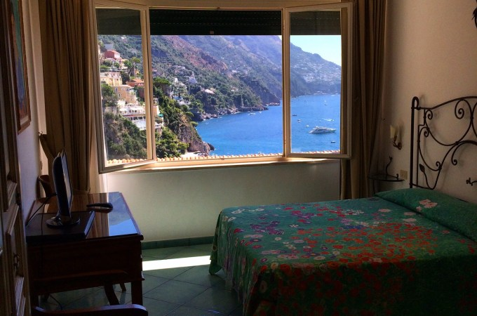 Room with a view at Positano's Casa Cosenza