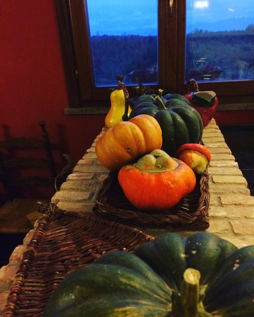 Pumpkins from the garden