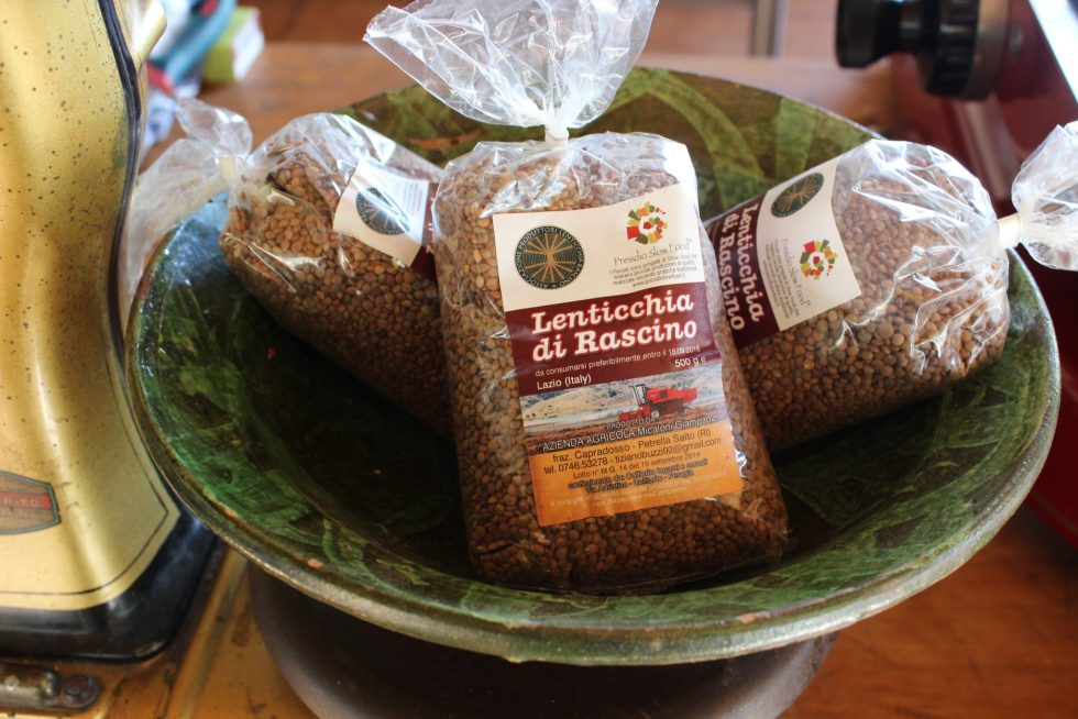 Lentils from northern Lazio