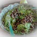 Brussels Sprouts & Toasted Walnut Salad