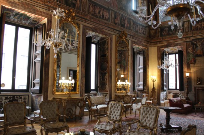 Palazzo Caetani and the Isola Mattei, a virtual tour