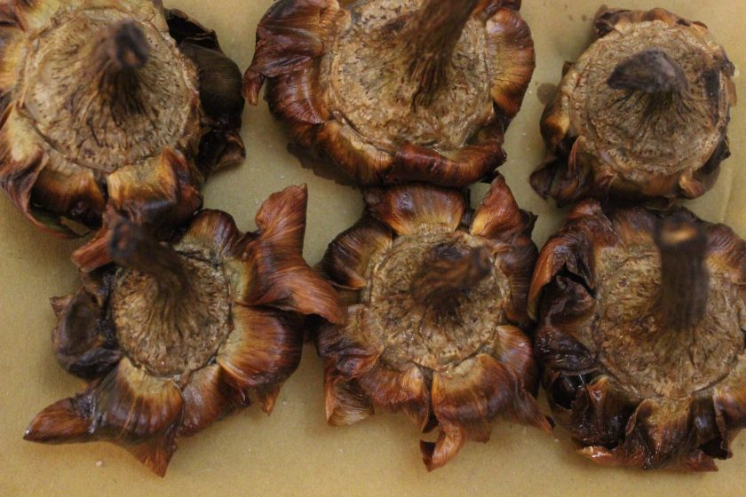 Nothing tastier than these deep-fried artichokes , fried in olive oil