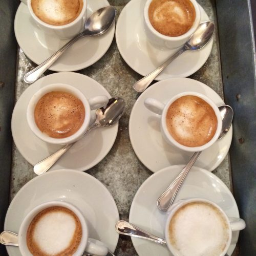 Italian Coffee served with a multitude of special order variations