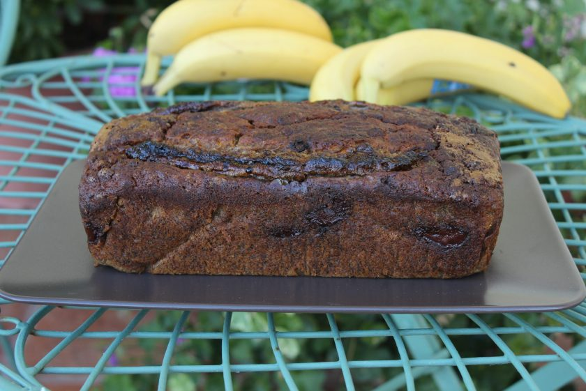 Delicious Banana Nutella Bread