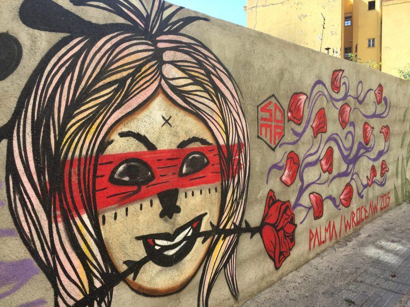 SOMA artist, street art