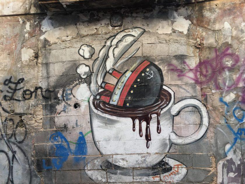 SOMA, street artist, Carrer Hostal d'en Bauló 9, Palma Mallorca