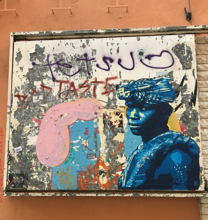 ZON, street artist, Calle de Rubí 16, Palma Mallorca