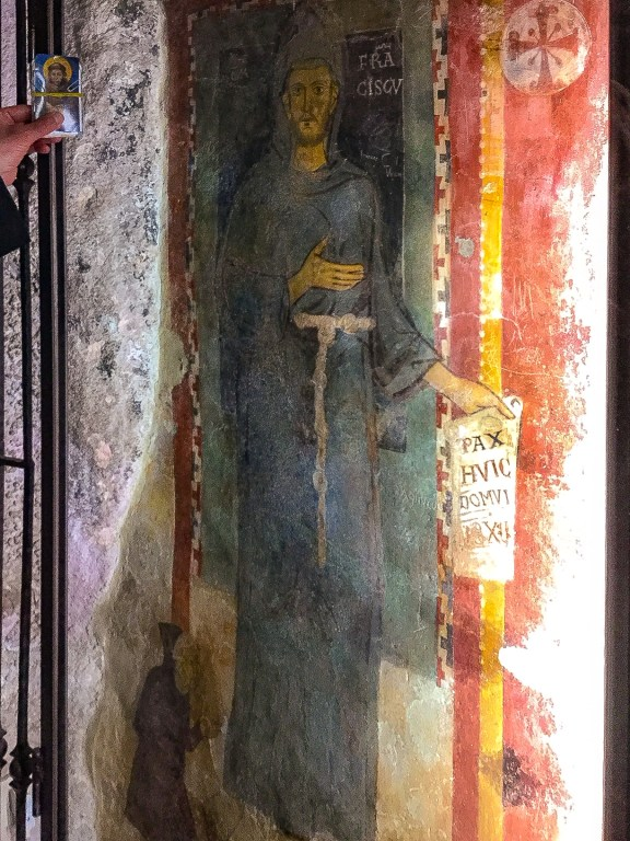 Portrait of Saint Francis Monastery Saint Benedict Subiaco