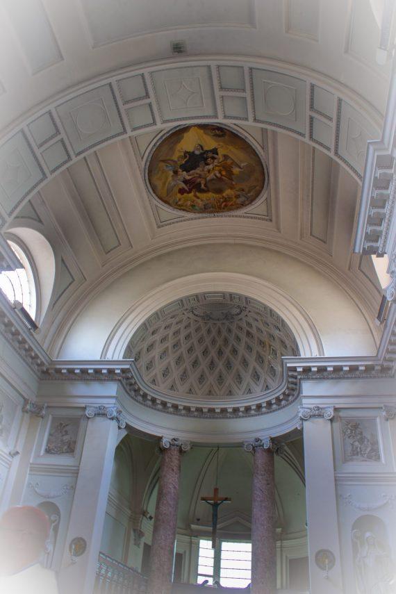 Saint Scholastica Monastery Subiaco grissaio style fresco