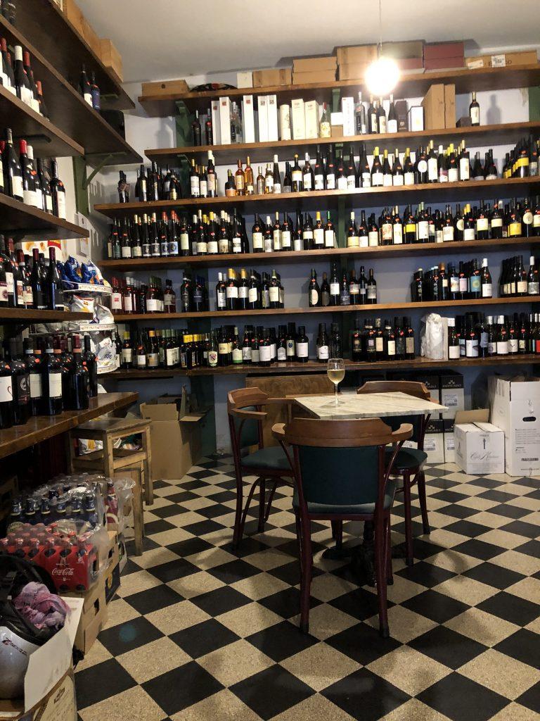 Il Vinaietto wine bar, Rome