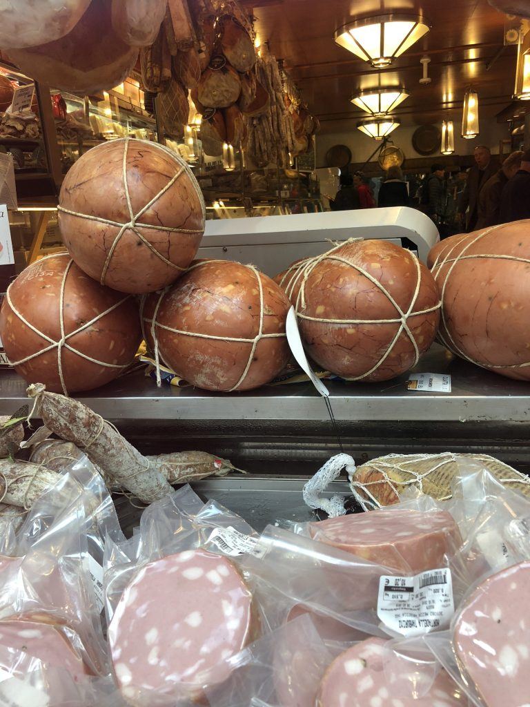Mortadella is a top IGP product from Bologna