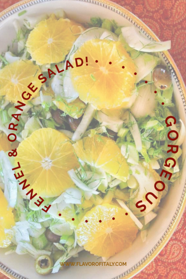 What makes this s this Fennel, Orange & Olive winter salad so delicious is the blend of fabulous, flavors, colors and texture!