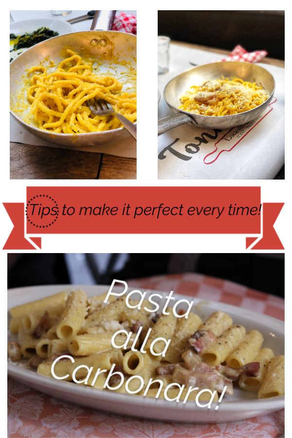 Pasta alla Carbonara is a simple and delicious classic Roman pasta dish that you can throw together in 30 minutes!