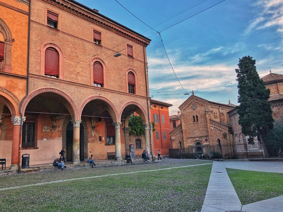 Piazza Santo Stefano and the Sette Chiese