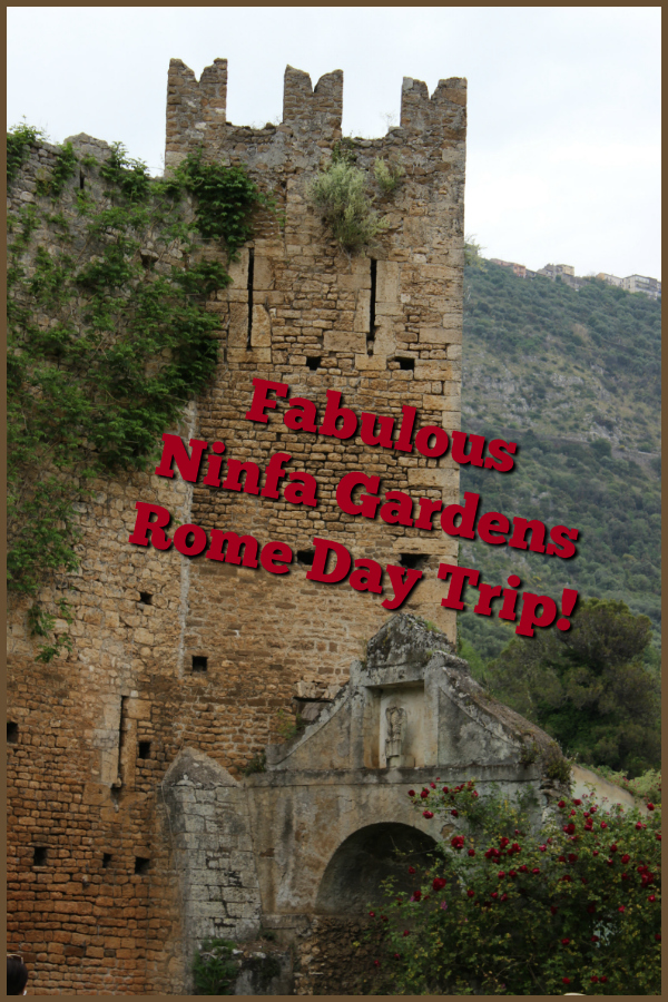 The Ninfa Gardens re-opened for the 2019 season. If you're looking for a day trip from Rome out of the hustle and bustle of the city this is a wonderful choice! Here's what you need to know: