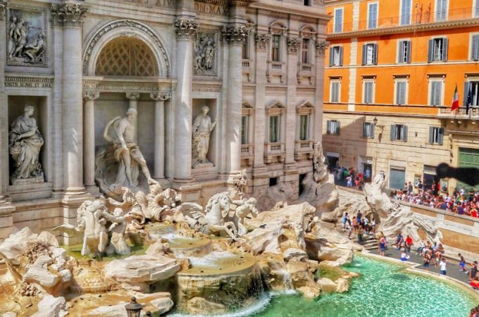 Rome's Trevi fountain is gorgeous and a must-see. Here's how to avoid the crowds...