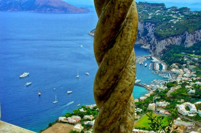 View of Capri from Anacapri