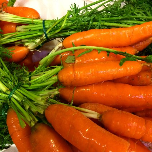 Garden Fresh Carrots for a Carrot Cake with Cream Cheese Icing...Luscious and moist with wonderful carrot flavor!