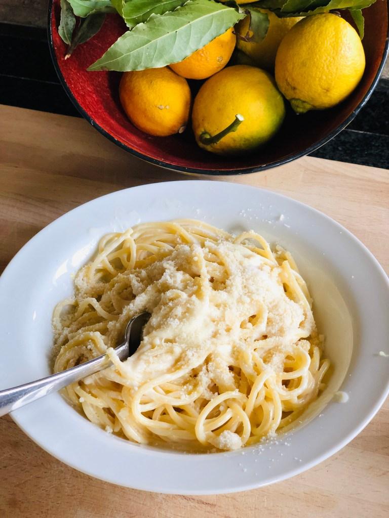 Creamy Lemon Spaghetti