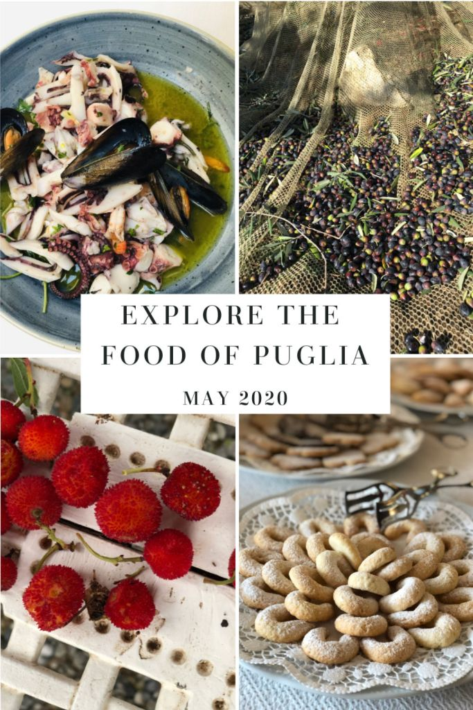 Explore the food of Puglia with me this spring and fall!