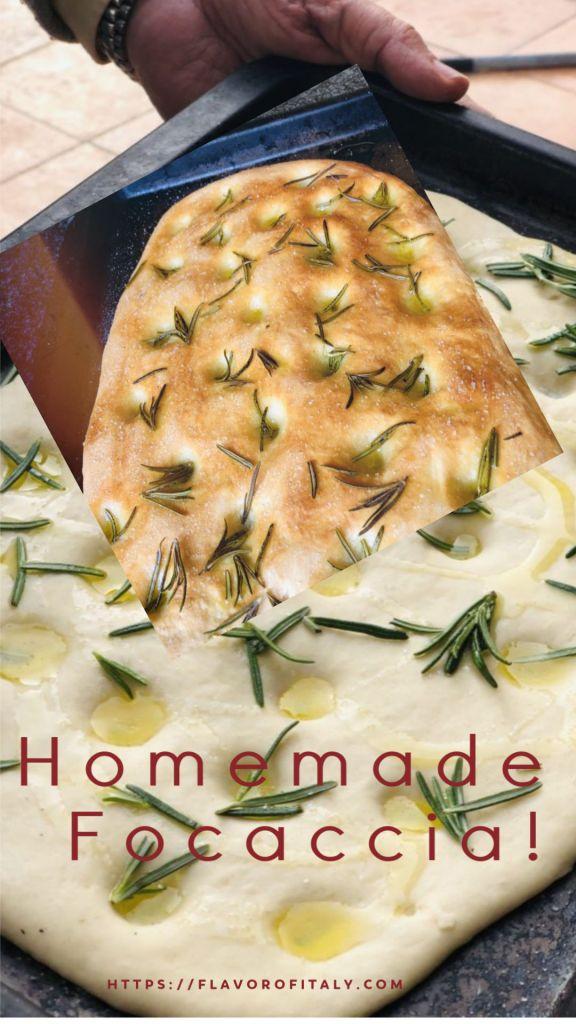 Delicious Homemade Focaccia!