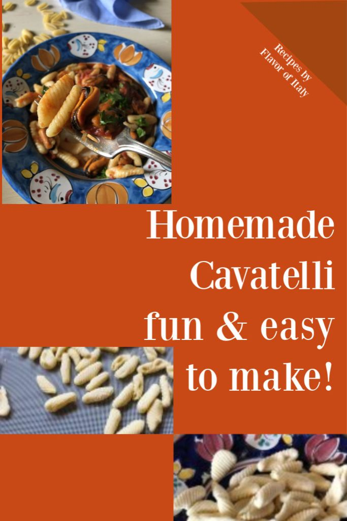 Homemade Cavatelli