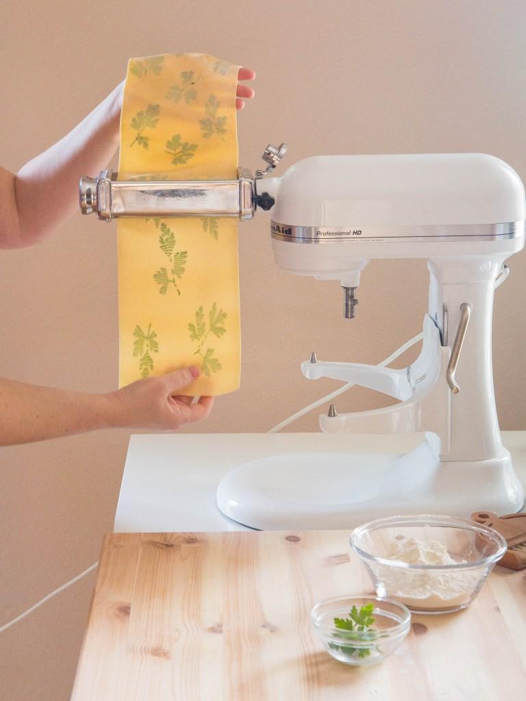 KitchenAid pasta attachments!