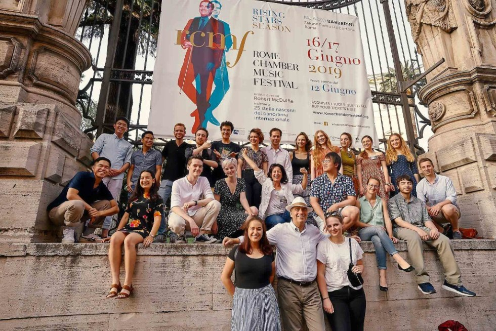The Rome Chamber Music Festival performers