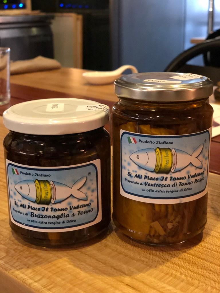 Delicious specialty tuna you can purchase at Rimessa Roscioli