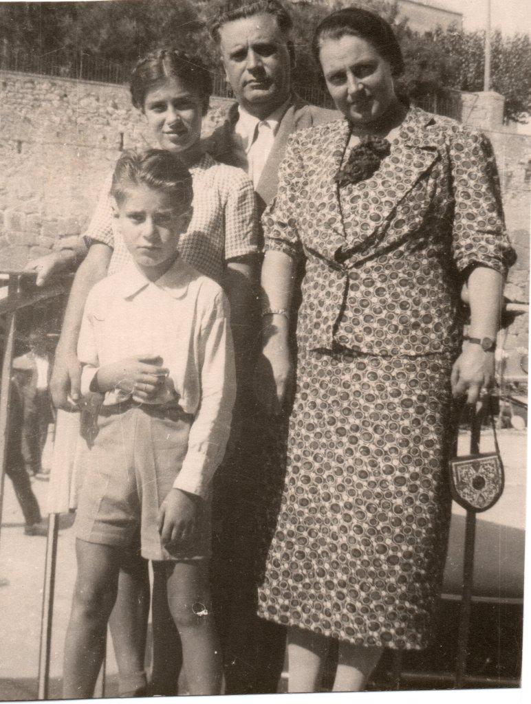 Claudio, Nisa, Lele e Giulio 1937