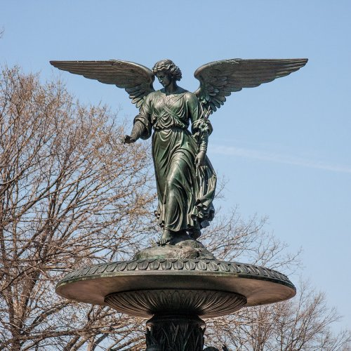 Angel of the Waters sculpture