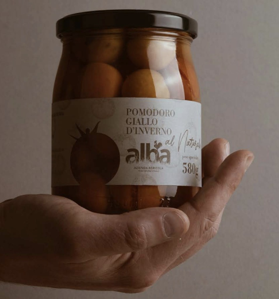 Alba yellow tomatoes