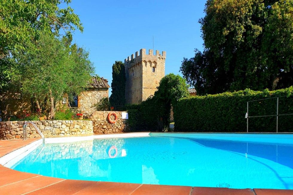 Pool at Spannocchia